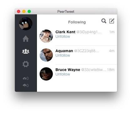 PeerTweet - Un clone de Twitter reposant sur Bittorrent - Korben | François MAGNAN  Formateur Consultant | Scoop.it