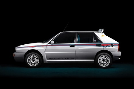 Lancia Delta Integrale: la Martini 6 all'asta   Motori e Buon Cibo   Scoop.it