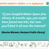 Fablab, Makerspace en bibliothèque