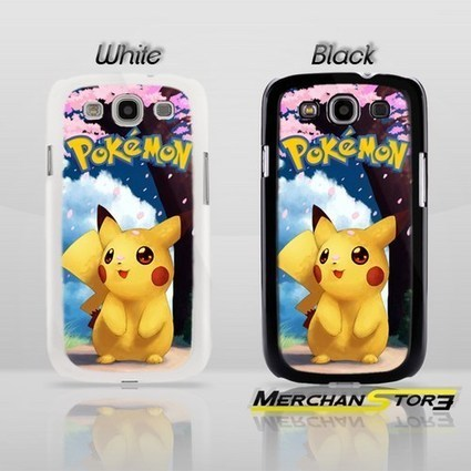 Awesome Sakura Sweet Pikachu Pokemon Samsung Galaxy S3 Case | Samsung Galaxy S3 Case | Scoop.it