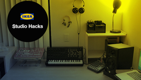 Build This Dream Music Studio with IKEA Hacked Furniture | Music Education | Scoop.it