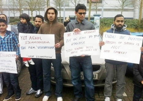 muslim Protest held outside cinema against 'Islamophobic film' - Local - Milton Keynes Citizen   The Indigenous Uprising of the British Isles   Scoop.it