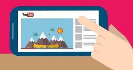 Les derniers chiffres de YouTube sur ses usages en France | usages du numérique | Scoop.it