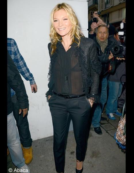 Le look du jour : Kate Moss | fashion, design, designer, trend | Scoop.it