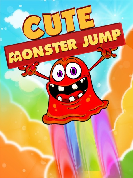 Cute Monster Jump | Android Games By Bright Geeks | Scoop.it