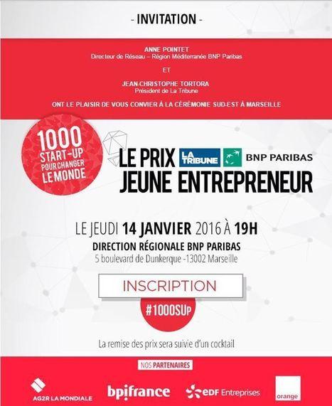 Prix La Tribune BNP Paribas Jeune Entrepreneur [Sud-Est] - Maddyness | BNP Paribas | Scoop.it