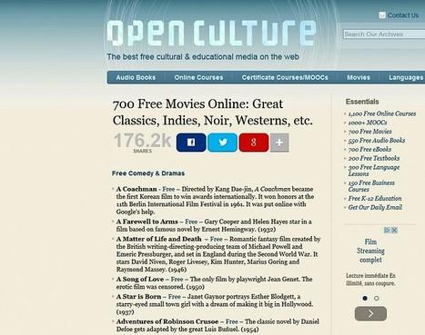 700 films de grands réalisateurs disponibles gratuitement en ligne   Merveilles - Marvels   Scoop.it