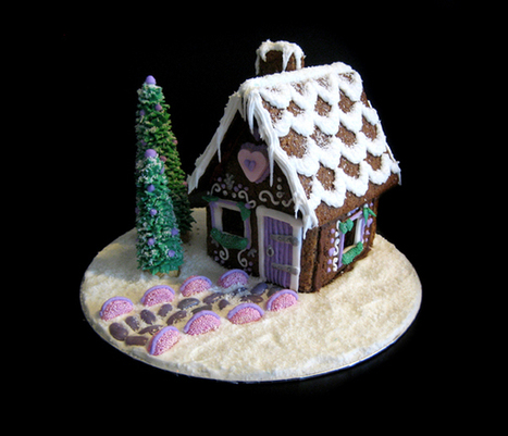 Gingerbread House | Just Chocolate!!! | Scoop.it