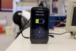 Une start-up dévoile une batterie rechargeable en moins de 30 secondes | Mon Compte | Scoop.it