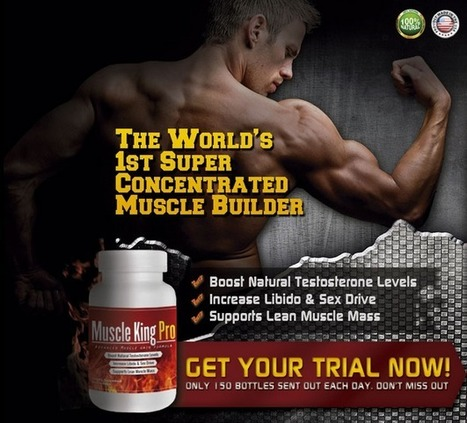 Hit the gym and get a perfectly toned body within short time | Increase metabolism and speed up muscle mass with-Muscle King Pro | Scoop.it