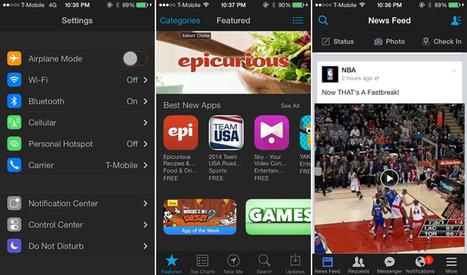 Eclipse Cydia Tweak Brings Night Theme Mode on iOS 7   Best cydia tweaks   Scoop.it