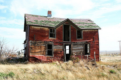 Gramma's Red House in Okaton, SD | Abandoned Houses | Scoop.it