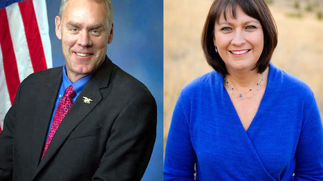 Juneau seeks 6 debates with House incumbent Zinke | Native America | Scoop.it