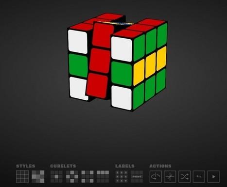Un simulador de Cubo de Rubik creado desde Google | Tecnologia Aprendizaje Comunicación para docentes | Scoop.it