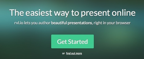 Web Presentations Made Easy with Rvl.io | ciberpocket | Scoop.it