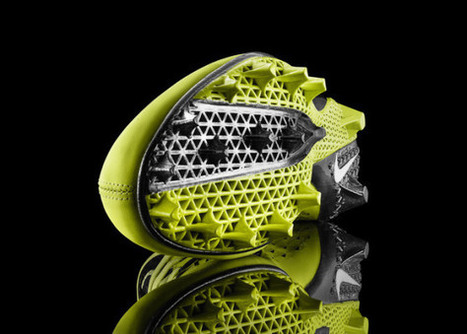 3D printing is helping Nike build the ideal football cleat | BarFabLab | Scoop.it