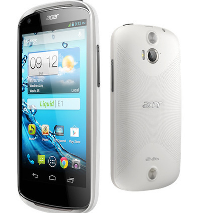 Acer liquid e1: features, specifications and price 2013   Latest   Scoop.it
