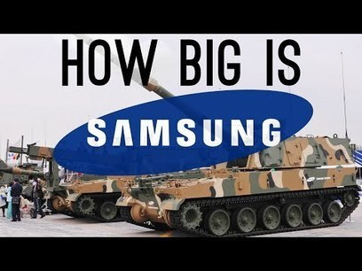 How BIG is Samsung? (They Have a Military Department!) - YouTube | leapmind | Scoop.it