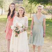 Pastel Bridesmaid Dresses - SarahFashionEditor's Profile - Project Wedding | Photography | Scoop.it