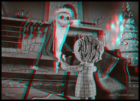 3-D NIGHTMARE BEFORE CHRISTMAS Jack gives Timmy a present | VIM | Scoop.it