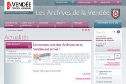GénéInfos: Les archives de Vendée font peau neuve sur Internet | Rhit Genealogie | Scoop.it