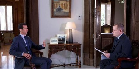 President al-Assad's interview given to Associated Press_ Video – Syrian Arab News Agency | Global politics | Scoop.it