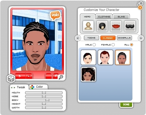 Voki - Personajes que hablan (Text-to-Speech) | Nuevas tecnologías aplicadas a la educación | Educa con TIC | Tools for  Teaching | Scoop.it