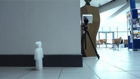 Une caméra pour voir derrière les murs | overblog maroc | Scoop.it