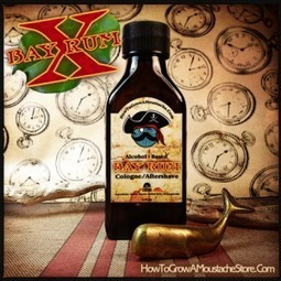 Review: HowToGrowAMoustache.com Bay Rum Cologne/Aftershave (Alcohol Based) | Bay Rum Diaries | Wet Shaving | Scoop.it