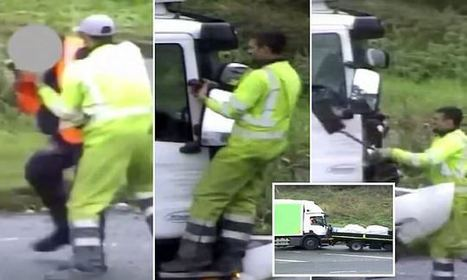 Terrifying road rage footage shows van driver shovel attack | Vince Tracy Podcasts and Information | Scoop.it