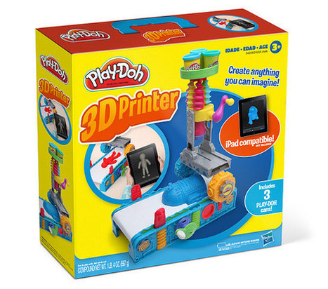 Play-Doh 3D Printer: ThinkGeek's best April Fools yet? - Pocket-lint | 3D Printing and Innovative Technology | Scoop.it