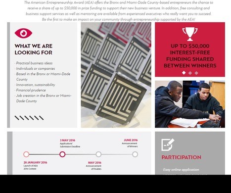 AMERICAN ENTREPRENEURSHIP AWARD $50000 shared prize - deadline May 3rd 2016 | Brooklyn By Design | Scoop.it