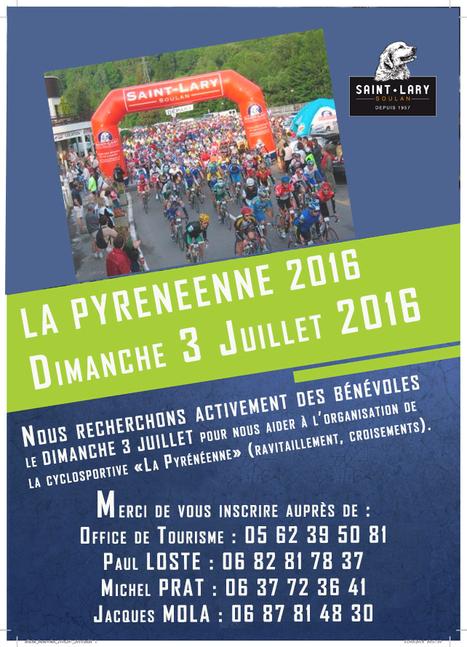 Bénévoles recherchés pour La Pyrénéenne - Saint-Lary | Vallée d'Aure - Pyrénées | Scoop.it
