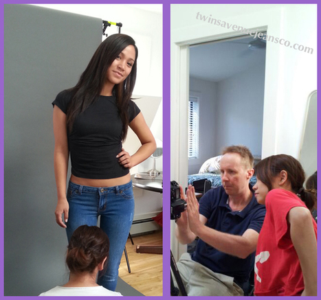 Having fun at the photo shoot with Dave & Athena!! | Rosie Jeans | Women Skinny Jeans | Scoop.it