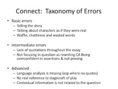 Canons Broadside: Using a 'Taxonomy of Errors' to Enhance Student Responses | Effective Feedback | Scoop.it