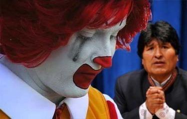 Fini la malbouffe pour les Boliviens : McDonald ferme tous ses restaurants en Bolivie | agriculture, alimentation et autres fables | Scoop.it