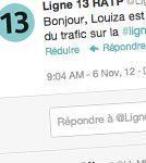 RATP sur Twitter : 2 mois après, ça donne quoi ? | CommunityManagementActus | Scoop.it