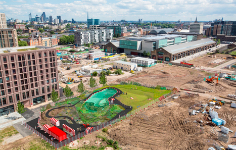 Mixed Use Development in London: King's Cross Pond Club | green streets | Scoop.it