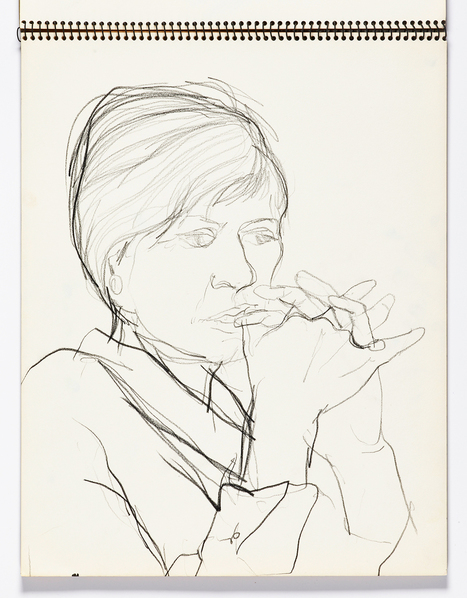 Inside Richard Diebenkorn's Revelatory Sketchbooks - Hyperallergic | HCA Illustration | Scoop.it