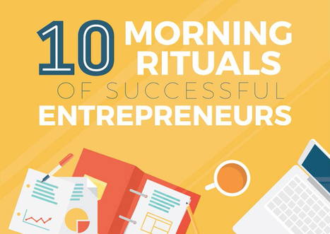 10 Morning Rituals of Successful Entrepreneurs [Infographic] | Startups,  Entrepreneurs, Angel Investors | Scoop.it