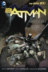 Scott Snyder – Batman Vol. 1: The Court of Owls | Philately, Books & Comics | Scoop.it