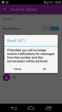 Block unwanted texts with Android's new messaging app | Android | Scoop.it