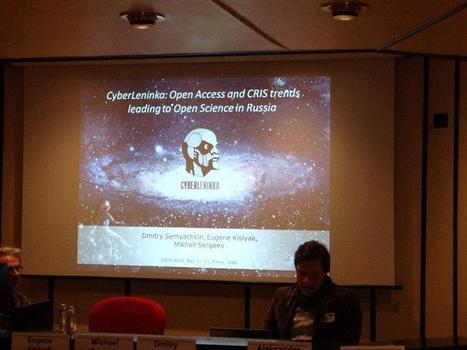 CyberLeninka: Open Access and CRIS trends leading to Open Science in Russia - Открытая Наука | Peer2Politics | Scoop.it