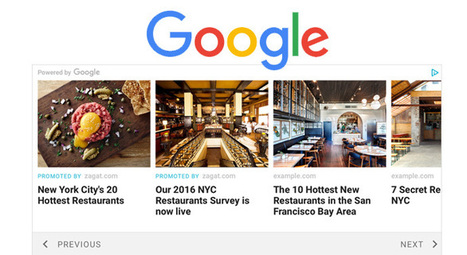 Contenu correspondant : un tout nouveau format Google Adsense ! | Nouveaux territoires du marketing | Scoop.it