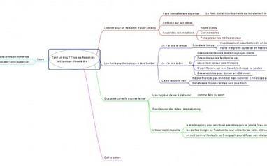 Comment utiliser une mindmap pour rédiger un billet de blog ? | marketing de contenu | Scoop.it