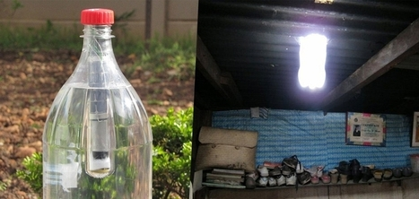 Un entrepreneur sud-africain transforme les bouteilles de soda en ampoules à moindre coût | Société durable | Scoop.it