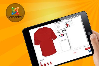 Latest iPad compatible online custom t-shirt design software, integrated Joomla with virtuemart | T-shirt Design Software | Scoop.it