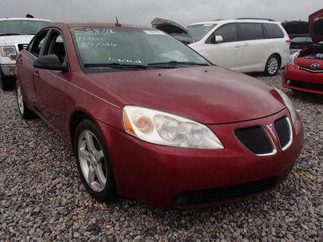 Salvage 2008 maroon Pontiac G6/se with VIN 1G2ZG57N484184353 on auction   cars   Scoop.it