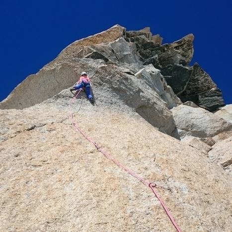 Caroline Ciavaldini s'offre la voie Petit au Grand Capucin | Neige et Granite | Scoop.it