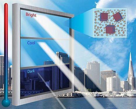 """Ce vitrage """"intelligent""""peut sélectivement arrêter la lumière visible mais aussi le rayonnement infrarouge   Dernières innovations technologiques   Scoop.it"""